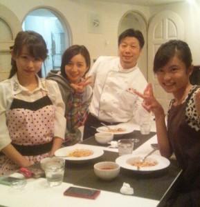 小島瑠璃子 料理