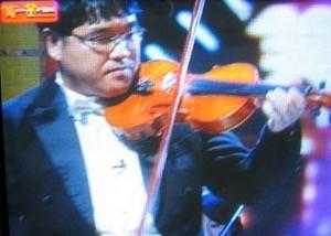 カンニング竹山 バイオリン