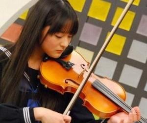 谷内里早 バイオリン