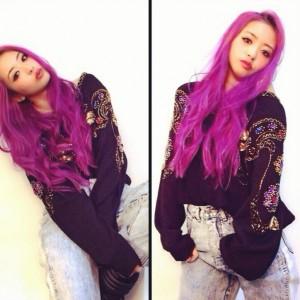 YU-A 髪型